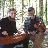 Lisa and Brian playing