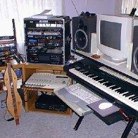 studio in 1987