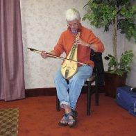 Ken Bloom bowed dulcimer Pardessus model