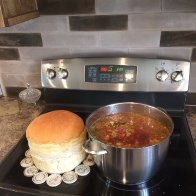 Borscht and fresh bread Sept 7 2018.jpg