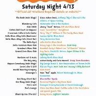 Juke Joint Festival 2019 Saturday Night