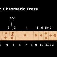 Dia-chromatic fretboard
