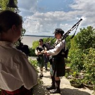 Bag pipers on the porch.jpg