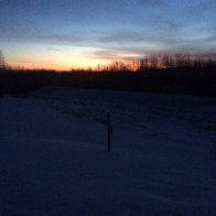 2020 01 07 cold sunrise on Hardy's Hill -22 C or 8 below 0 F.JPG