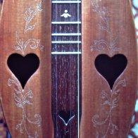 hearts & stenciling, by DavidField
