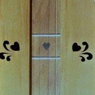 embellished hearts by Romey Pittman, NEDS'83