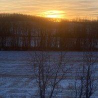 Sunrise On Hardy's Hill December 24 2020 930 am