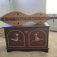 Appalachian Dulcimer Resting on a Pennsylvania-Dutch Shoe Chest.jpg