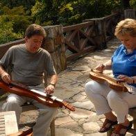 Larry & Elaine at Snowbird Mountain Lodge