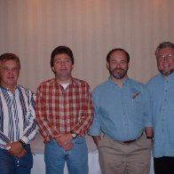 Michael Shull, Larry, Joe Collins & Mike Clemmer @ Unicoi