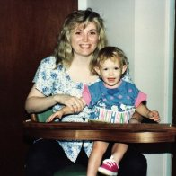 My Daughter and Me with My McSpadden Mountain Dulcimer