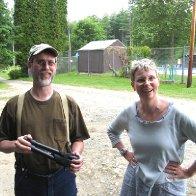 Brian & Lisa summer 2009
