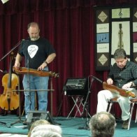 Joe Collins and Larry share the stage in Kinston, North Carolina