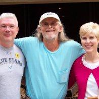 (L-R) John, Randy Adams, and Karen