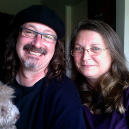 Table Hill -- Adrian Kosky and Carla Maxwell with Miss Jelly Bean