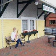 Karen at the depot