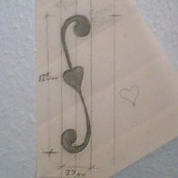 A soundhole design I have used on some teardrop Instruments
