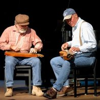 Phil and John on Stage-Haywood Talent Show