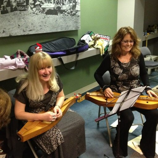 Dulcimer Girls Jayme Kelly Curtis & Laura Devine