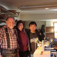 Howard Rugg, Patricia Delich, & Wayne Jiang