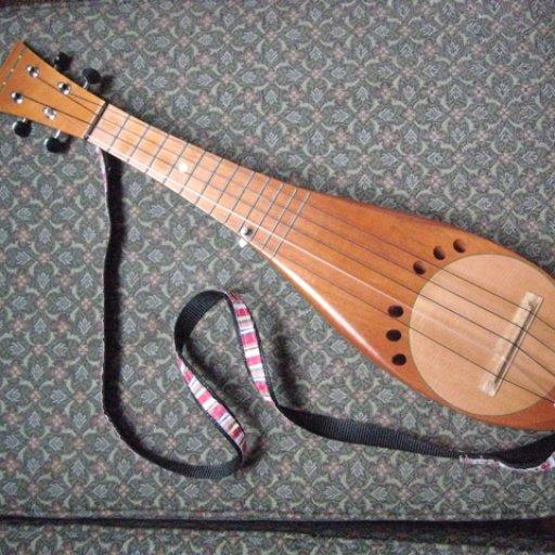 Ukulele built by Richard Troughear