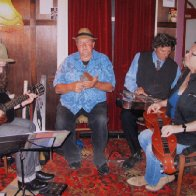 Table Hill band jamming with Ken Parfrey