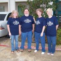 Liz, Rob, Carrie, and Karen