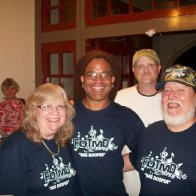 Bing Futch & us in Palestine TX 2012
