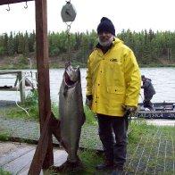 43lb King Salmon