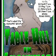 Table Hill band poster 1