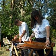 Aug 14, 2009 at Osceola - Tuning up