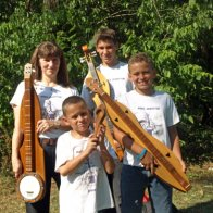 Aug 14, 2009 at Osceola - with my Grandsons