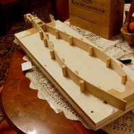 So I thought I'd try to make a prototype Teardrop dulcimer