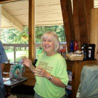 Heidi at Dulcimer Week in the Wallowas