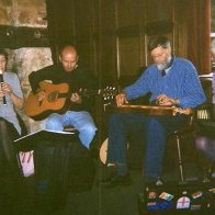 At a Hardwicke Arms session - Carol, Brian, Nigel and Rose