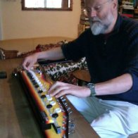 Nigel Pennick playing Shahi Baja October 4 2012