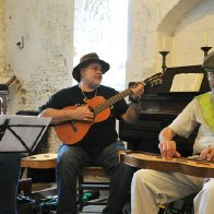 Traditional Music of Cambridgeshire Collective at the  Sturbridge Fair 8.9.2012