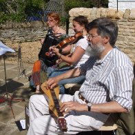 Traditional Music of Cambridgeshire Collective at John Clare's house, Helpston July 17 2010