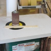 Spindle sanding