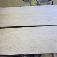 Curly maple panels