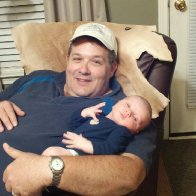 """Papaw and his """"little man"""""""
