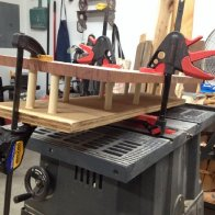 Clamping the Bending Jig