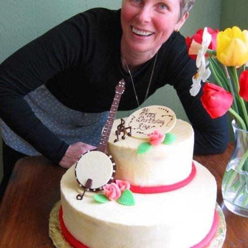My banjo birthday cake 2008