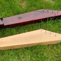 Two five-string kanteles