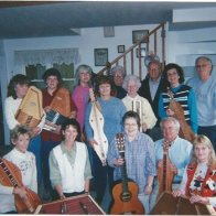 Our happy Dulcimer group back in early 2000