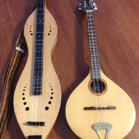 My dulcimer has a new friend:)