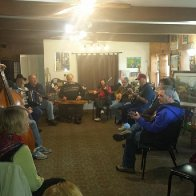 Open Jam at our music shop, Mosaic in Metamora, Indiana