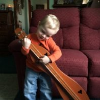 The joys of children and dulcimers