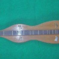 Walnut & Cedar with rosewood fingerboard (front)