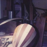 A lute in the making